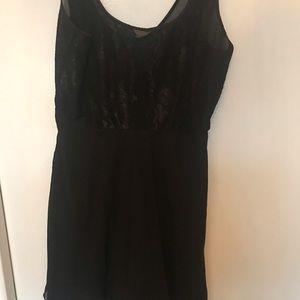 Soma Intimates & Sleepwear - Soma black lace babydoll